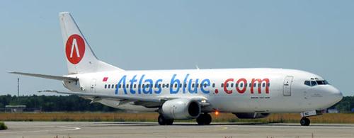 Airlineportrait Atlas blue