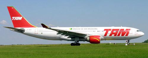 Airlineportrait TAM