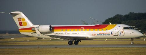 Airlineportrait Air Nostrum - Iberia Regional