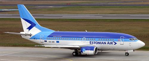 Airlineportrait Estonian Air