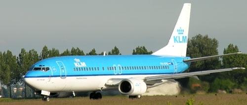 Airlineportrait KLM