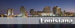 Billigflüge Louisiana